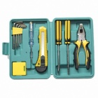 12-in-1 Household Combination Tool Set - Yellow