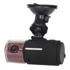 "T600 1.5""TFT 5M CMOS Full HD 1080P Car DVR Camcorder w/ 2-IR LED Night Vision + HDMI - Black + Red"