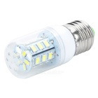 JRLED JR-LED-E27-5W E27 5W 350lm 6500K 24-5630 SMD White Light Bulb - White (AC 220~240V)