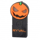 RYVAL Jack-O-Laterne Stil Wasserdicht USB 2.0 Flash Drive - Orange + Schwarz + Bunt (8GB)