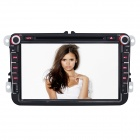 "Joyous VW 8"" Car DVD Player w/ Radio, GPS, Analog TV, BT, CANBUS for Polo/Jetta/Tiguan/Turan/Passat"