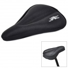 JSZ ZC Cycling Thickening Silicone Bike Saddle Cover - Black