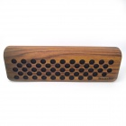 Sounder N3 Trees Pattern Bluetooth V2.1 Speaker Box w/ Microphone - Black + Brown