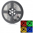 Waterproof 72W 300 x SMD 5050 LED RGB Light Car Decoration Light Strip (12V / 5m)