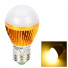 HESION HS01003A E27 3W 270lm 3000K 3-LED Warm White Light Bulb - Golden (AC 85~265V)
