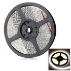 Waterproof 2600lm 3300K 600-3528 SMD LED Warm White Light Flexible Decorative Strip (12V / 5m)
