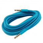 Elonbo A3CQ 3.5mm Male to Male Aux Audio Cable - Blue (300cm)