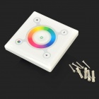 RGB LED Stripe Touch Controller - White + Multicolored (12~24V)