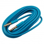 Elonbo A2XQ 3.5mm Male to Male Aux Audio Cable - Blue (200cm)