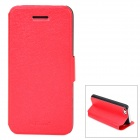 GT Coupe Protective PU-Leder Flip-open w / Stand für Iphone 5C - Red