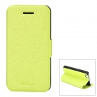 GT Coupe Protective PU-Leder Flip-open für Iphone 5C - Schwarz + Light Green