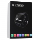 "RuiQ Uwatch2 1.5"" LCD Smartwatch Bluetooth V3.0 Watch Support Message Display - White + Silver"