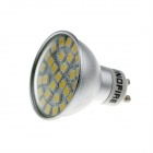 KindFire GU10 5W 340lm 3500K 29 x SMD 5050 LED Warm White Light Spotlight Bulb w/ Cover - (220~240V)