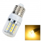 JRLED JR-LED-E27-3W E27 3W 230lm 3300K 27-5050 SMD LED Warm White Light Bulb (AC 220~240V)