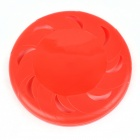 Durable Plastic Pet Frisbee - Red
