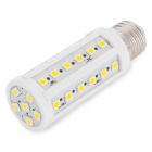 QD26-42-5050-12V-NBG E27 6W 150lm 3200K 42-5050 SMD LED Warm White Light Corn Lamp - White (12V)