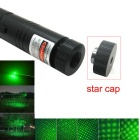 JD303 532nm Green Stary Laser Pointer Pen - Black (US Plugs)