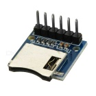 120801 6-Pin Micro SD / TF Card Module - Deep Blue