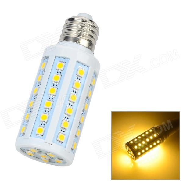 Zweihnder JDKJ55-2 E27 8W 700lm 3300K 54-5050 SMD LED Warm White Light Corn Bulb - White (AC 220V) zweihnder e27 15w 1200lm 86 smd 5050 led white light bulb 220 240v