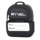 RYVAL Bag Style Water Resistant USB 2.0 Flash Drive - Black + Grey + Multicolored (8GB)