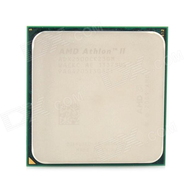 AMD X2 250 65W 45nm 3GHz Dual-Core Socket AM3 CPU - Silver + Golden + Multicolored