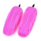 Electric Heated Deodorizing Sterilization Shoes Dryer - Deep Pink (US Plugss / 220V / Cable 130cm )
