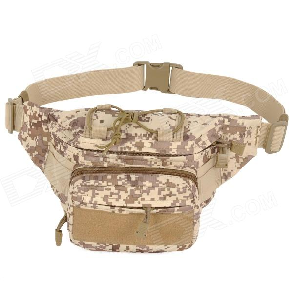 SW3068 Outdoor Sports Multifunction 600D Oxford Waist Bag - Digital Camouflage (0.5L) stylish camouflage terylene waist bag