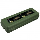 SingFire SF-GB3 Protective Plastic Shock-Resistant Flashlight Case - Green (34.5 x 11.7 x 7.6cm)