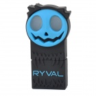 RYVAL Jack-o-lantern Style Water Resistant USB 2.0 Flash Drive - Blue + Black + Multicolored (8GB)