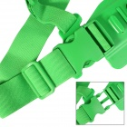 DUALANE Fashionable Integrated Fixed Chest Strap Camera Accessory for SONY AS15/AS30 - Green