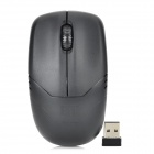 ET D05 2.4GHz 800 / 1200 / 1600CPI Wireless Optical LED Mouse - Black (1 x AA)