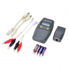 "SC6106 1.5"" LCD Network Cable Tester - Ash Black (4 x AAA)"