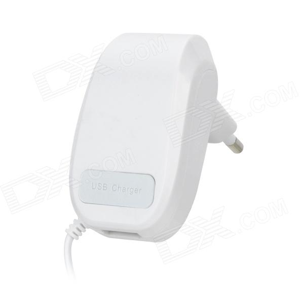 YXT-203 USB EU Plug Plastic AC Charger - White (Cable Length-100cm / 110~220V) ubiquiti airmax sector antenna am 5g19 120