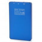 "S-What Solar Powered ""4000mAh"" External Battery Charger Power Bank for Iphone / Samsung / HTC - Blue"