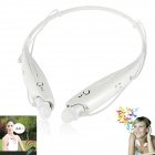 LG HBS-730 4.0+EDR Bluetooth Wireless Stereo Headset Headphone w/ Microphone - White