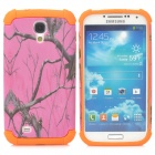 Tree Branches Pattern 2-in-1 Protective Plastic + TPU Back Case for Samsung S4 i9500