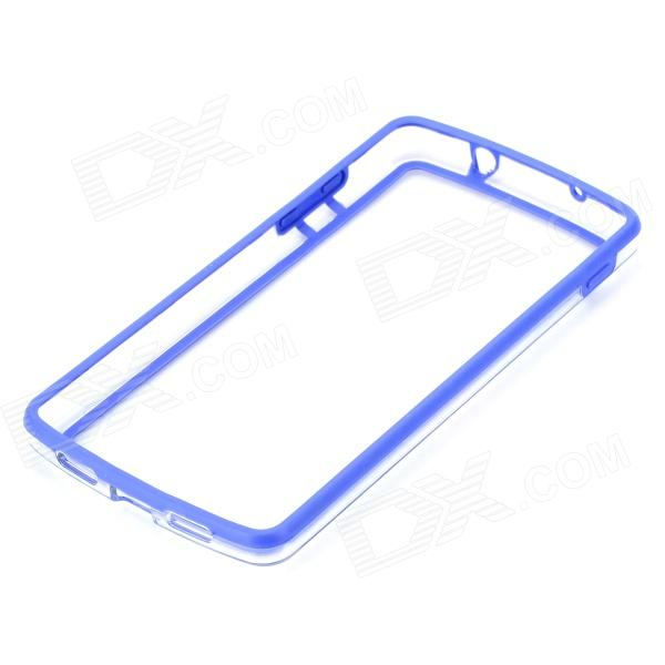 swhat protective pc tpu bumper frame case for lg nexus