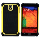 Buy 2-in-1 Protective Plastic + TPU Back Case Samsung Galaxy Note 3 N9000 - Yellow Black