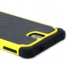 2-in-1 Protective Plastic + TPU Back Case for Samsung Galaxy Note 3 N9000 - Yellow + Black