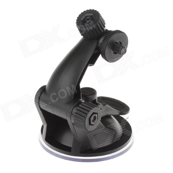 H01B 220 Degree Rotation Suction Cup Base for Mobile / GPS - Black