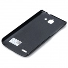 PUDINI LX-G730 Protective PC Back Case for Huawei G730-U00 - Black