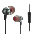Jolly Roger E200 Stylish In-Ear Earphones w/ Microphone - Black