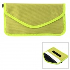 W-298 Stylish Nylon Cell Phone Bag / Change Purse - Grass Green