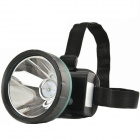 Cree XM-L T6 300lm Ultra Concentrated Light Water-proof Rechargeable Headlamp - Black