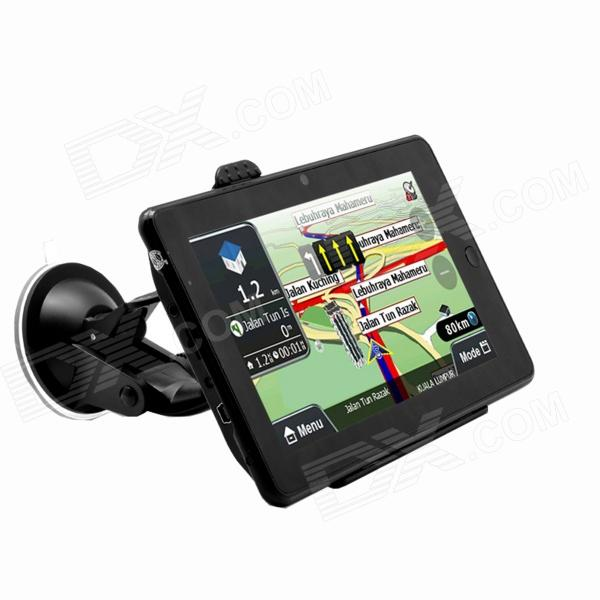 ACSON Y176 7 Touch Screen Android 4.0 GPS Navigator w/ Wi-Fi / Camera - Black (8GB) edaohang e53 5 touch screen lcd wince 6 0 gps navigator w fm 8gb black