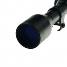 ACCU 3-7 X 28 de aluminio aleación Rifle Scope - negro