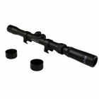 ACCU 3- 7X20 liga de alumínio Rifle Scope - Preto