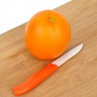 CK-22 2-in-1 Zirconia Ceramics Knife + Peeler  - Orange