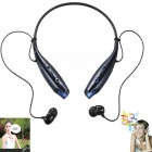 LG HBS-730 4.0+EDR Bluetooth Wireless Stereo Headset Headphone w/ Microphone - Black + Blue