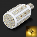 E27 9W 280lm 3500K 168-LED Warm White Light Corn Lamp (12V)